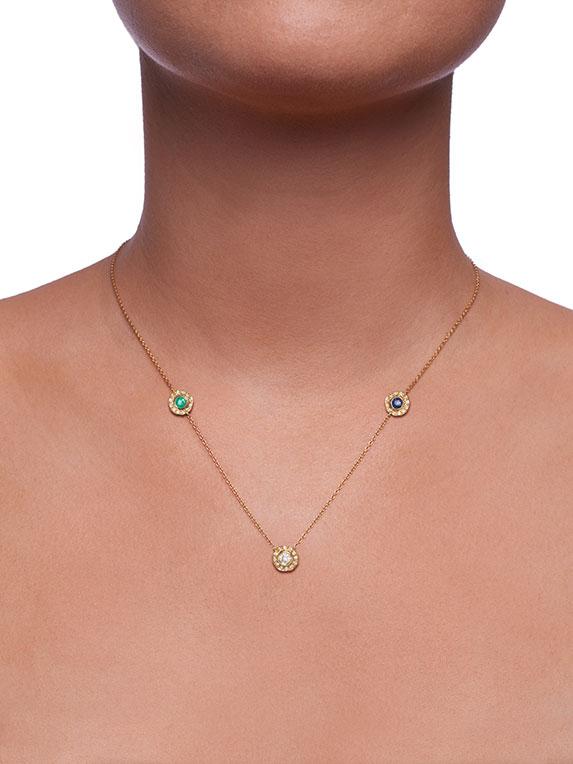 Necklace - Three Stones
