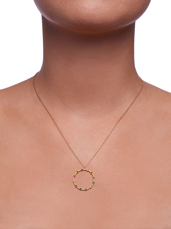 Necklace - Combined Stones