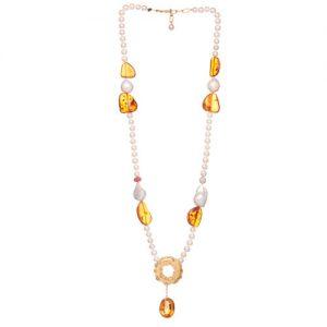 Topaz/Ruby/Diamond/Ambar/Pearl/Necklace/High/Jewellery/MariaJoaoBahia