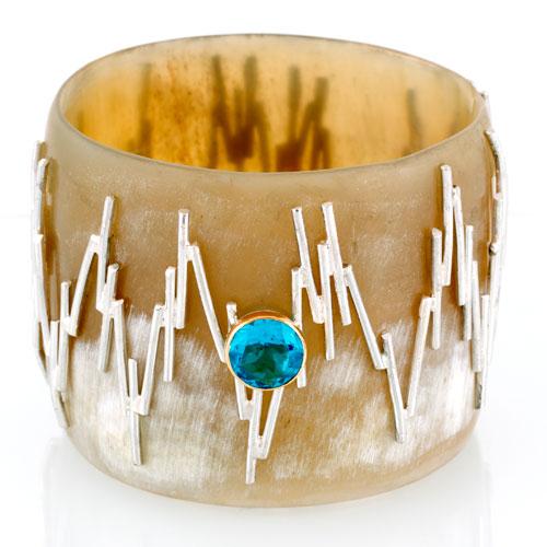 Gold/Silver/Amethyst/Bracelet/High/Jewelery/MariaJoaoBahia