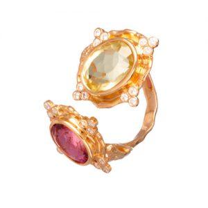 TwoStones/Ring/High/Jewellery/MariaJoaoBahia