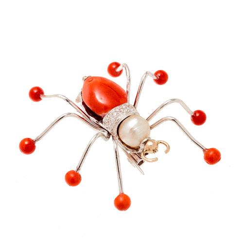 Spider/Pin/High/Jewelery/MariaJoaoBahia